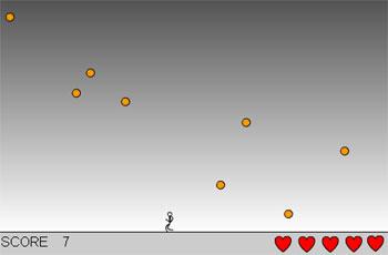 Падающие шарики (flash игра)