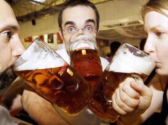 Топ-25 пьющих стран мира