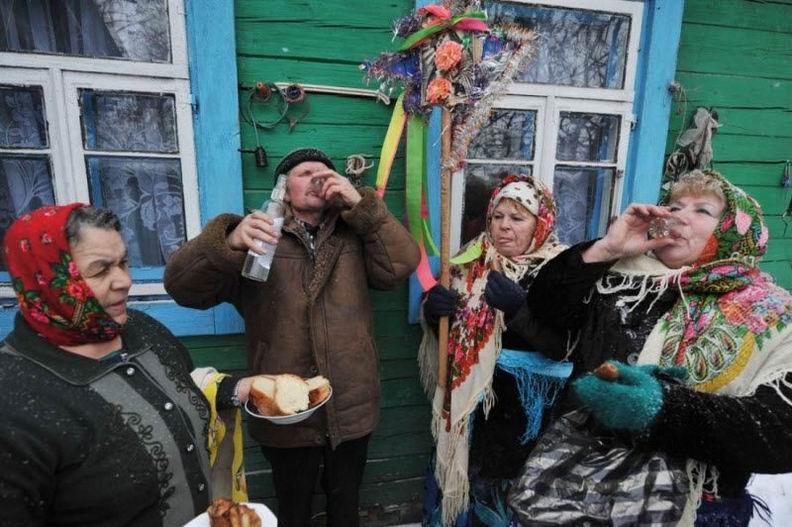 Традиции встречи Нового года во всем мире (25 фотографий)