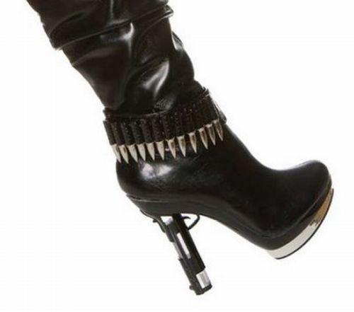 Туфли с оружием
